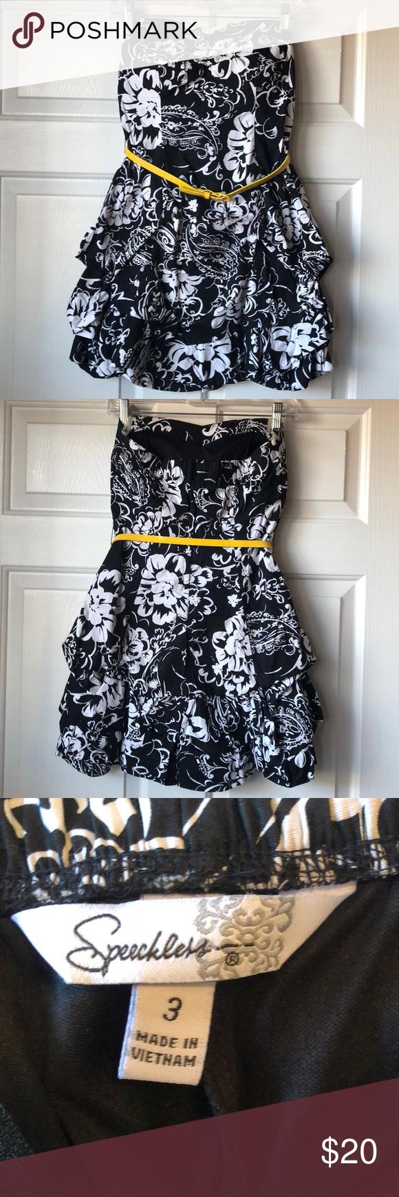 Sale Black Dress With White Flowers Black Dress Dresses Clothes Design [ 1740 x 580 Pixel ]