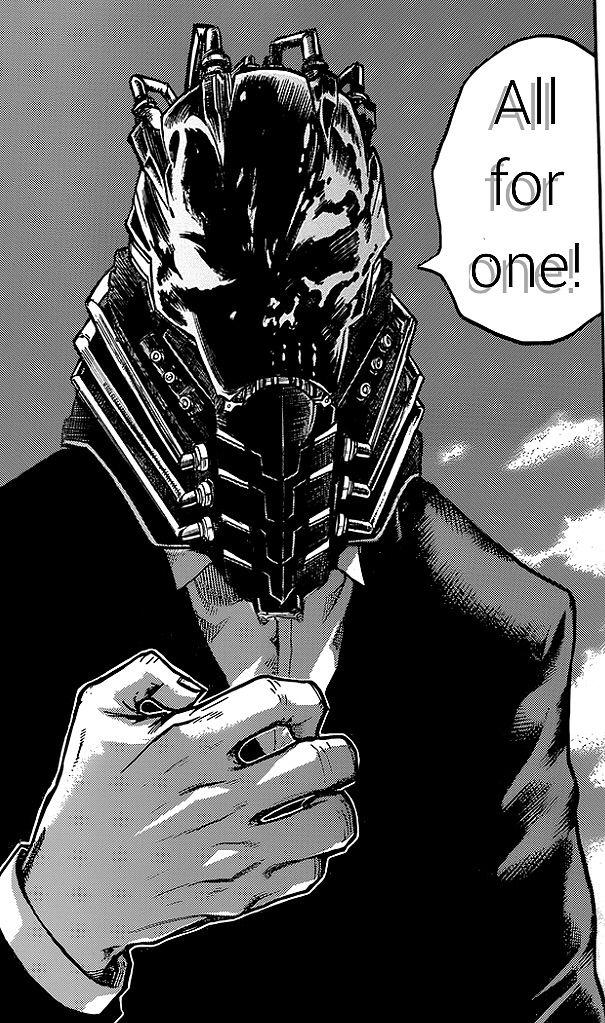 All for One - boku no hero academia | Personajes de anime ...
