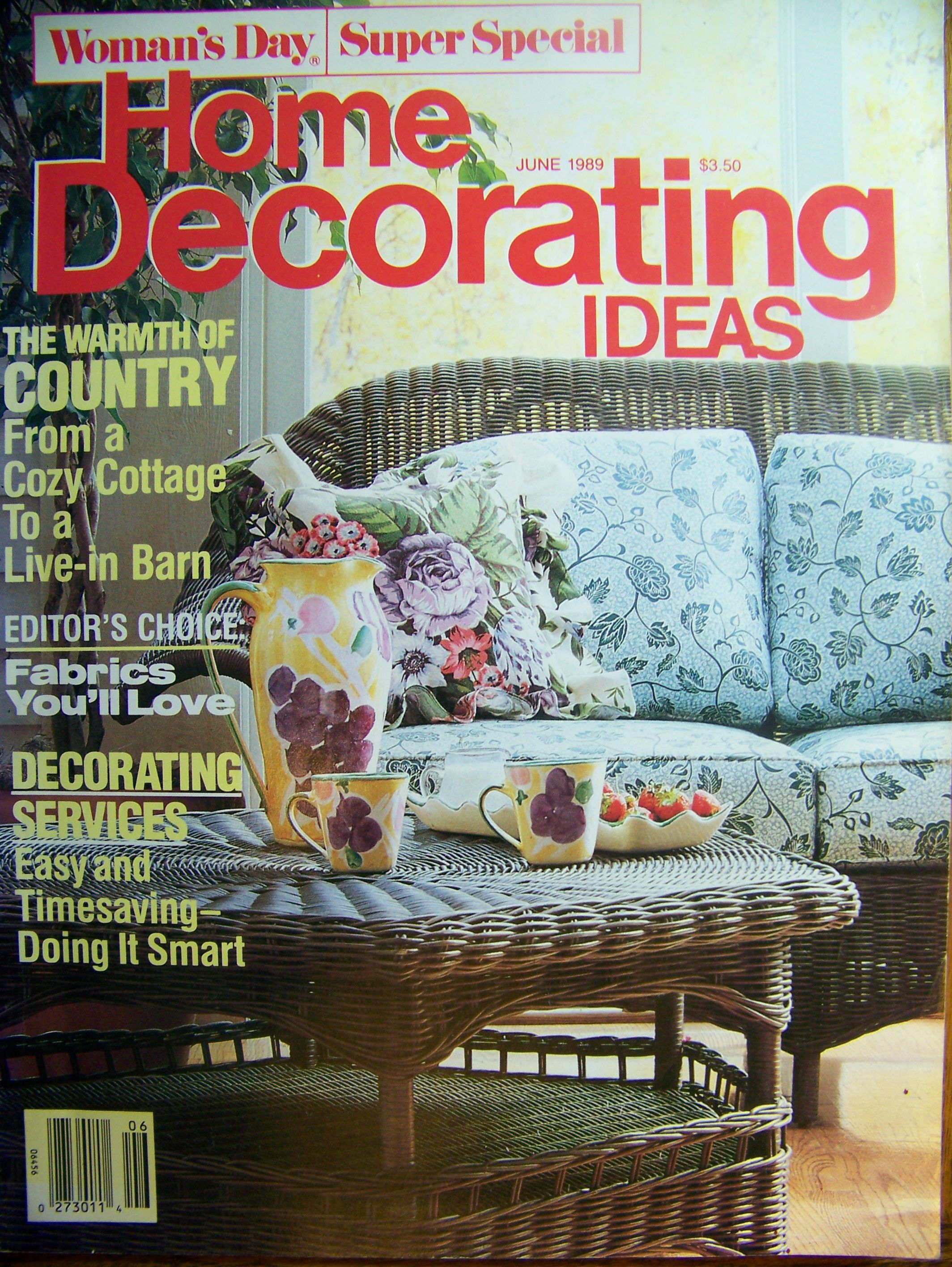 Home Decorating Ideas Usa June 1989 Magazines Pinterest