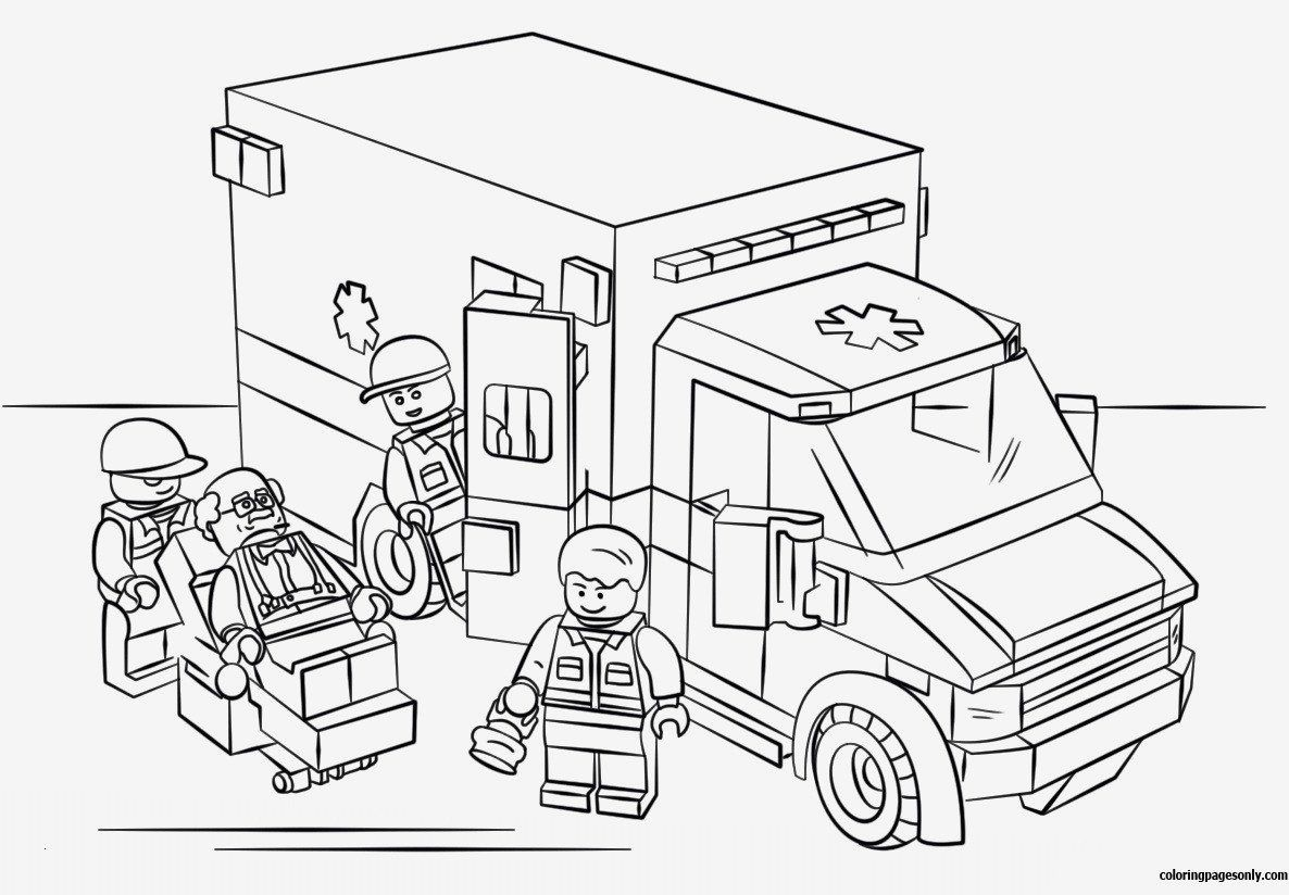 Bob The Builder Coloring Pages Inspirational Lego Polizei