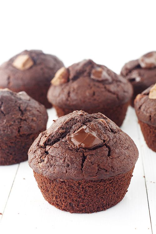 Double Chocolate Muffins — Sweetest Menu