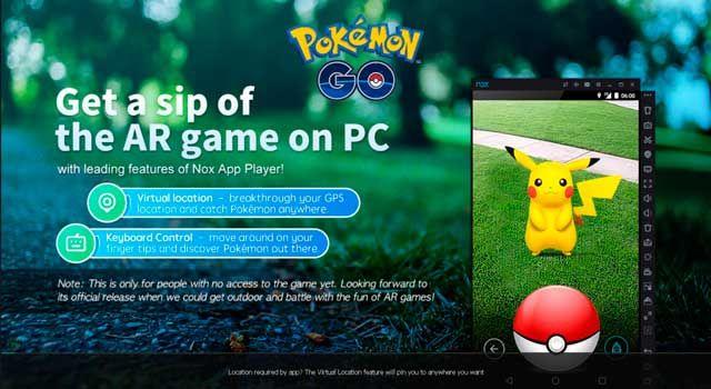 Nox App Player Emulator Android untuk Main Pokemon Go di PC