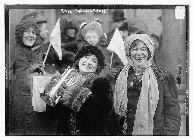 Rose Sanderson [i.e., Sanderman] (LOC)    Bain News Service,, publisher.    Rose Sanderson [i.e., Sanderman]    1913 Feb. 10