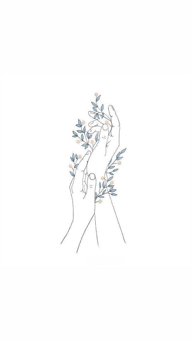 Hands illustration - imaginative illustration - Pin Blog