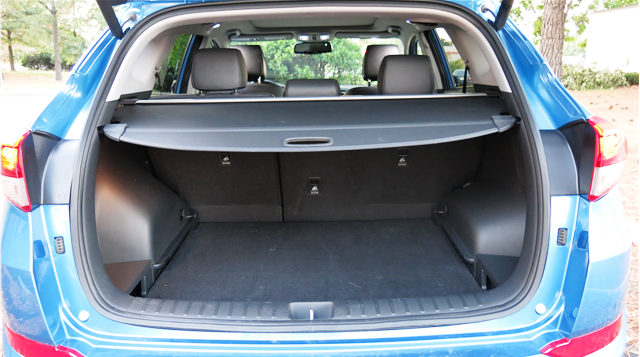 2016 hyundai tucson cargo space cars suv lovers pinterest compact suv and cars. Black Bedroom Furniture Sets. Home Design Ideas