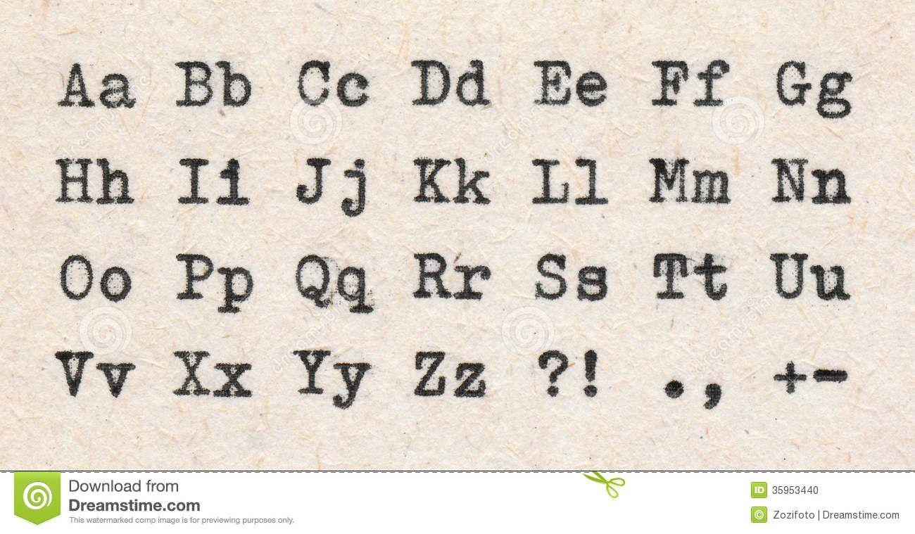 Manualidades Con Letra De Maquina Buscar Con Google Cositas