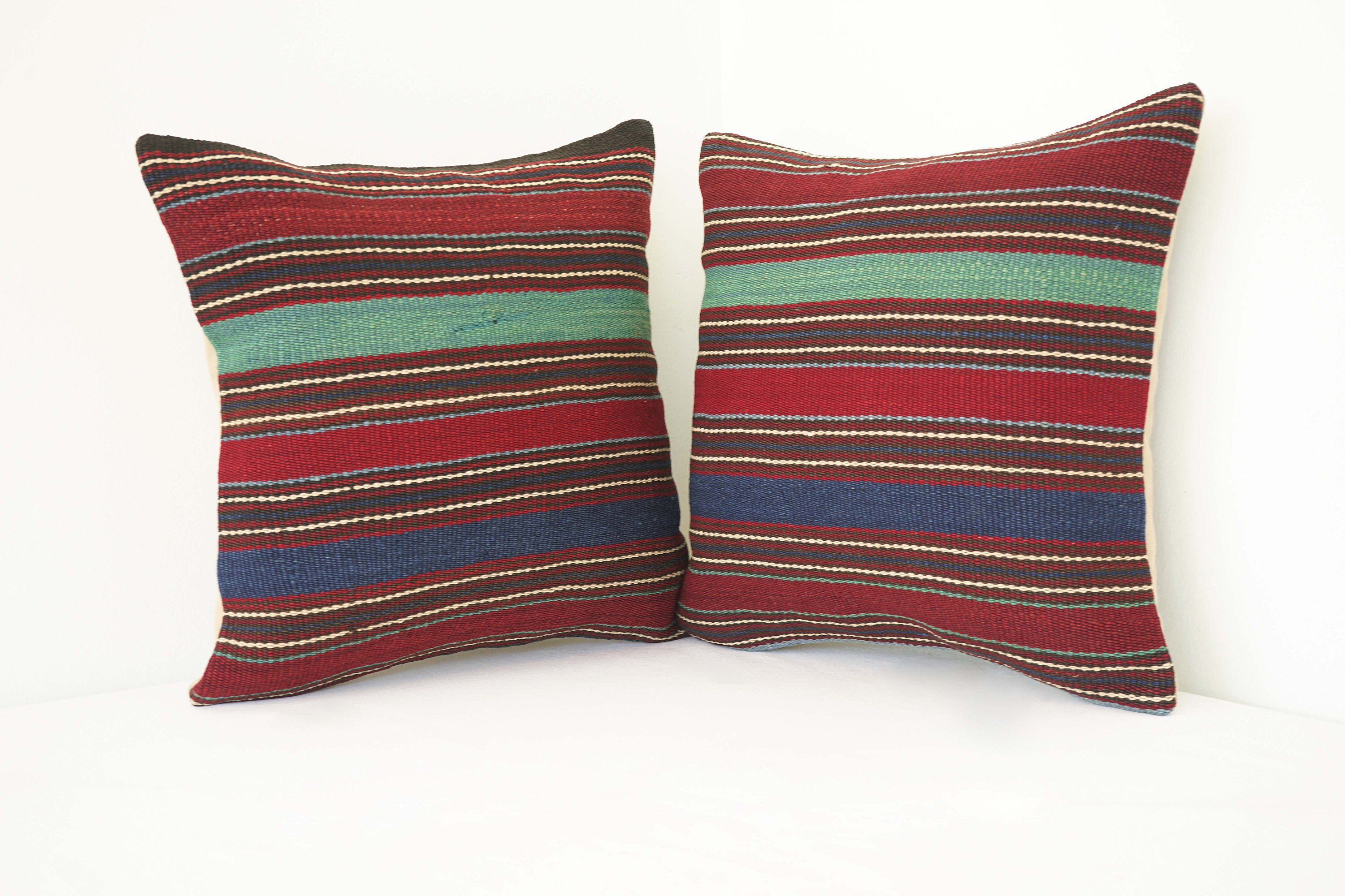 Kilim pillow boho pillow cover vintage