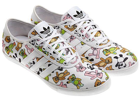 Damen&Herren-Jeremy Scott Adidas Orignals P-Sole Colorful Schuhe
