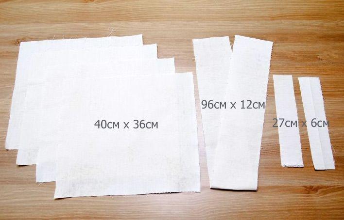 어떻게 양면 에코 가방을 바느질합니다.  사진 재봉 자습서.