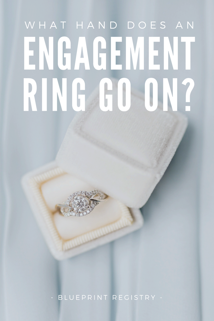 You Re Not Alone In Wondering What Hand Does An Engagement Ring Go On Blueprint Uncovers Some Of The F Engagement Rings Engagement Wedding Rings Engagement