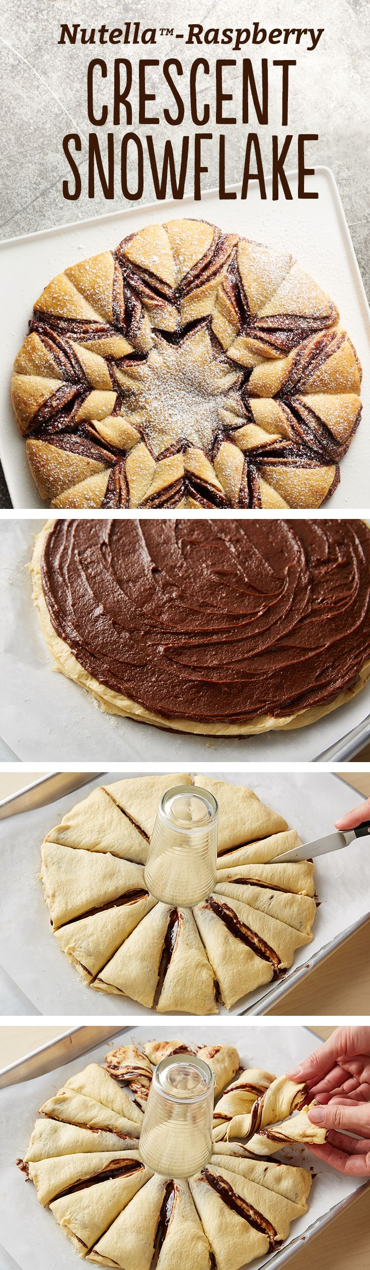 Fun And Delicious Nutella Twist Christmas Tree