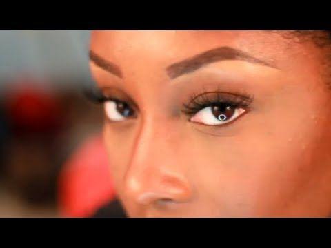 how to apply false eyelashes easy  beginnerfriendly