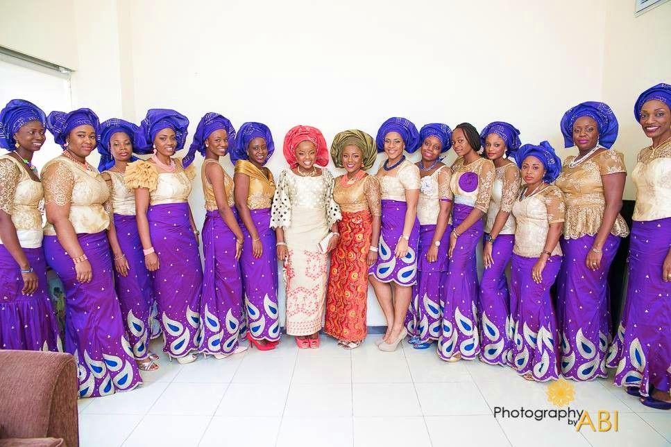 African Sweetheart: Traditional Wedding: Aso Ebi | |African ...