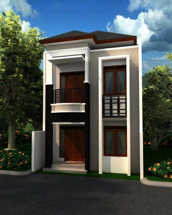 50 Model Desain Rumah Minimalis 2 Lantai & 50 Model Desain Rumah Minimalis 2 Lantai | case | Pinterest | 50th