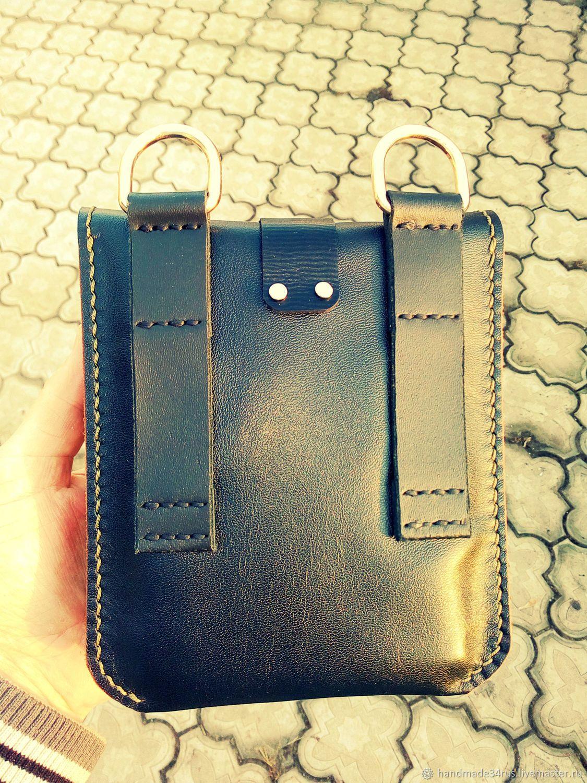 dd7de5257ac2 Мужские сумки ручной работы. Сумка мужская кожаная.Поясная-наплечная.  Кожаные изделия.