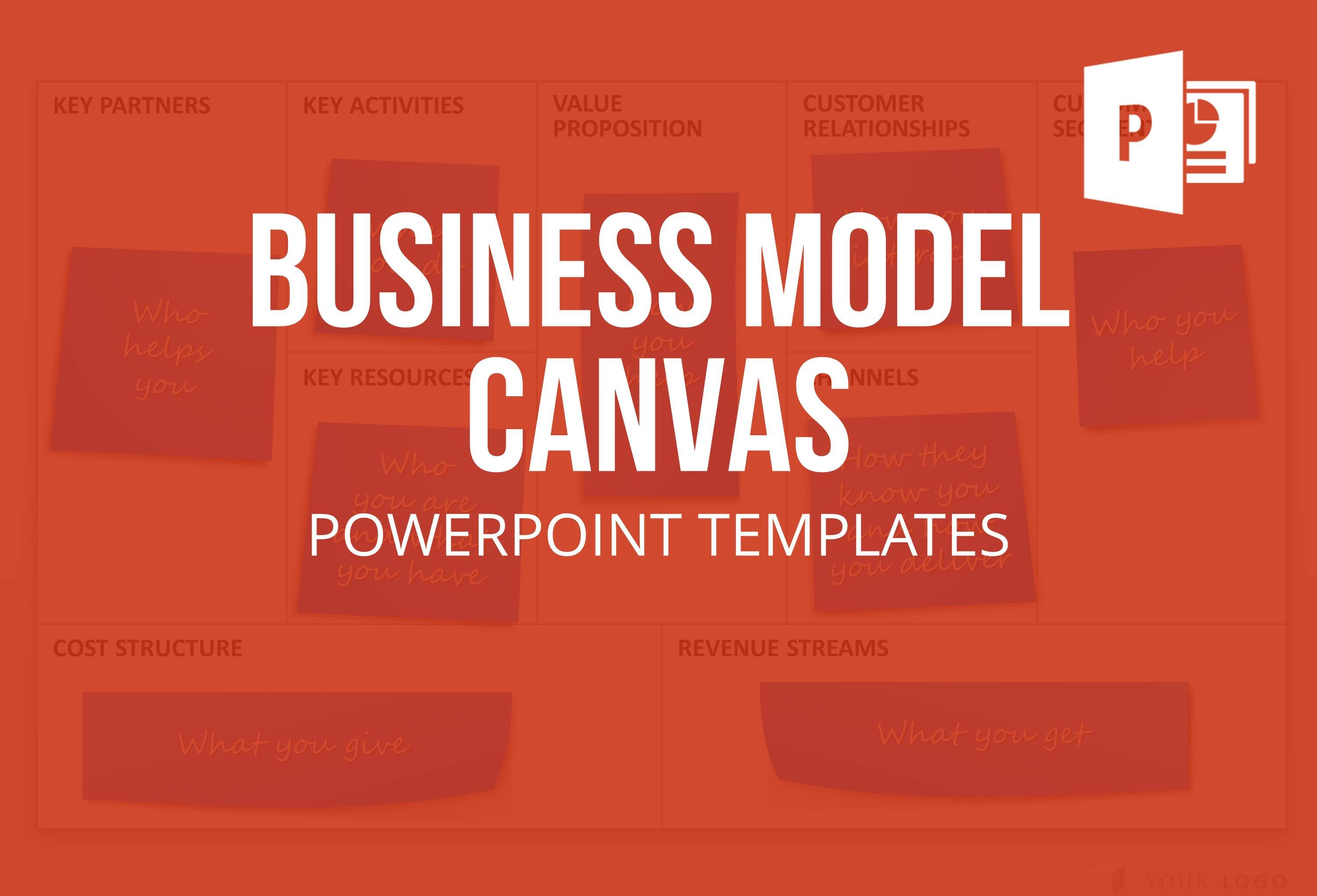 Business Model Canvas templates (BMC) for PowerPoint for