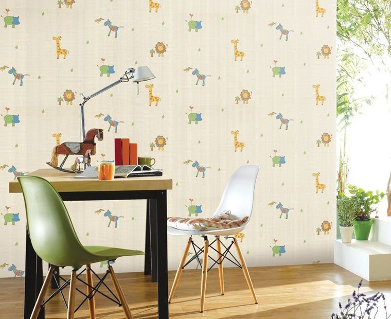 Bright Cute And Funny Kids Wallpaper By Lg Hausys Animal