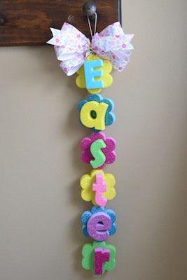 Easter Craft Foam Decoration
