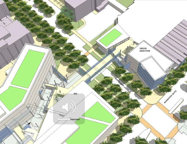 University Of Wisconsin Milwaukee Master Plan Landscape Pinterest Architecture Concept