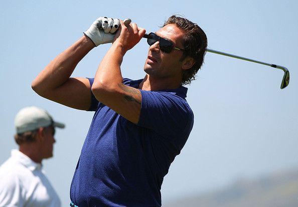 Sheldon Souray Photos Photos Omega Trophy Golf Outing Golf Outing Club Face Stars Hockey