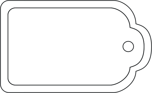 Blank Tag Png Available In Different Size 9236 Free Gift Tag Template Tag Template Blank Gift Tag Template