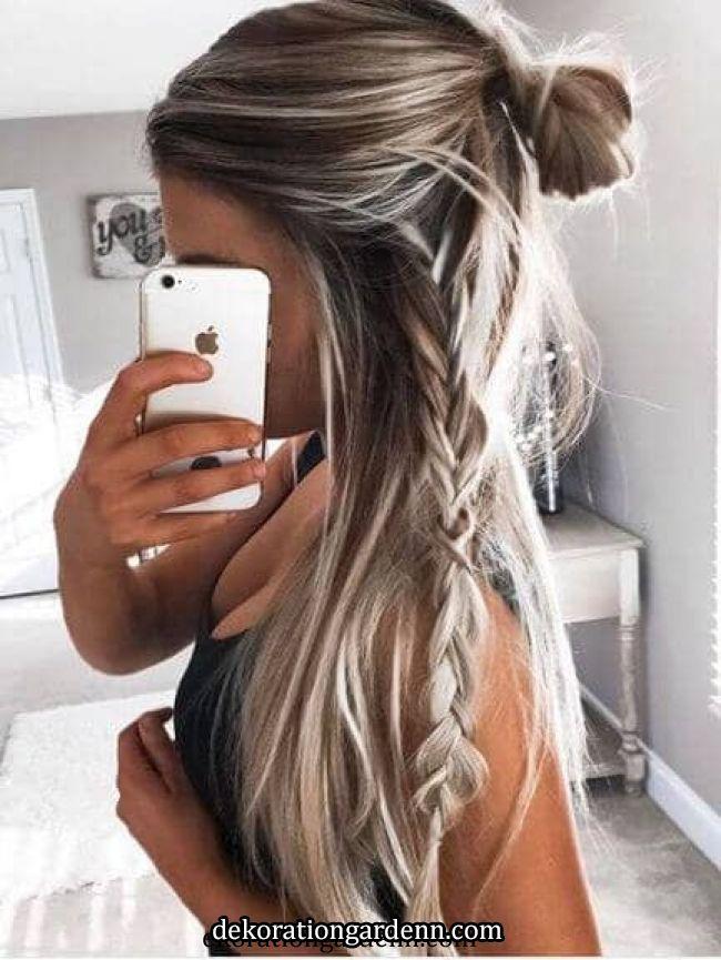 33 Cool Braids Festival Frisuren | Einfache Frisuren für langes Haar, Lange Frisuren, Einfache Frisuren