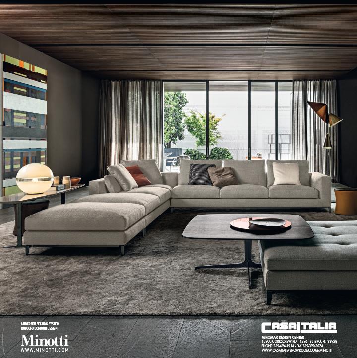 Casa italia showrooms varaschin minotti azzam villa moodboard pinterest maison - Meubles minotti ...