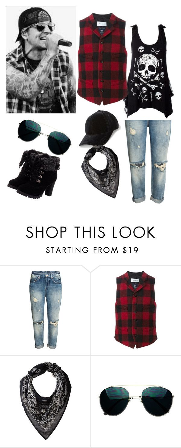 """M Shadows"" by inthismomentgrl ❤ liked on Polyvore featuring Chan Luu"