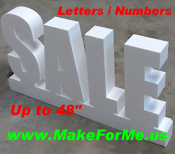 3d Foam Letters Numbers Logos Objects Signage Stage And Event Props And Much More Event Props Signage Foam Letters