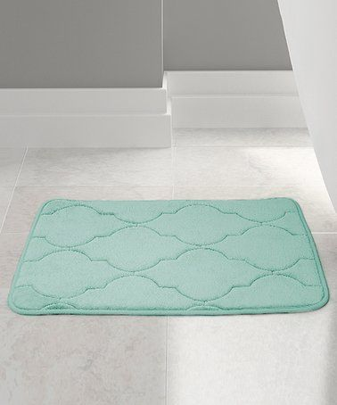 Look What I Found On Zulily Aqua Embossed Memory Foam Lattice