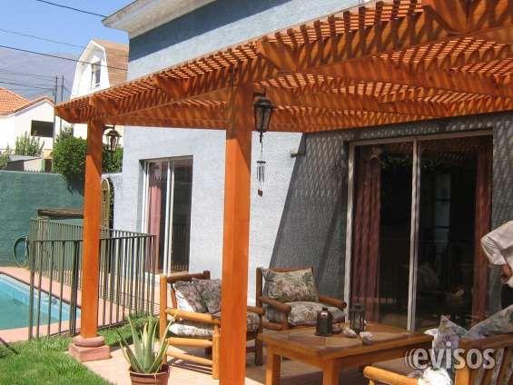Cobertizos terrazas en su casa trabajamos m ximo 2 d as for Cobertizos para terrazas