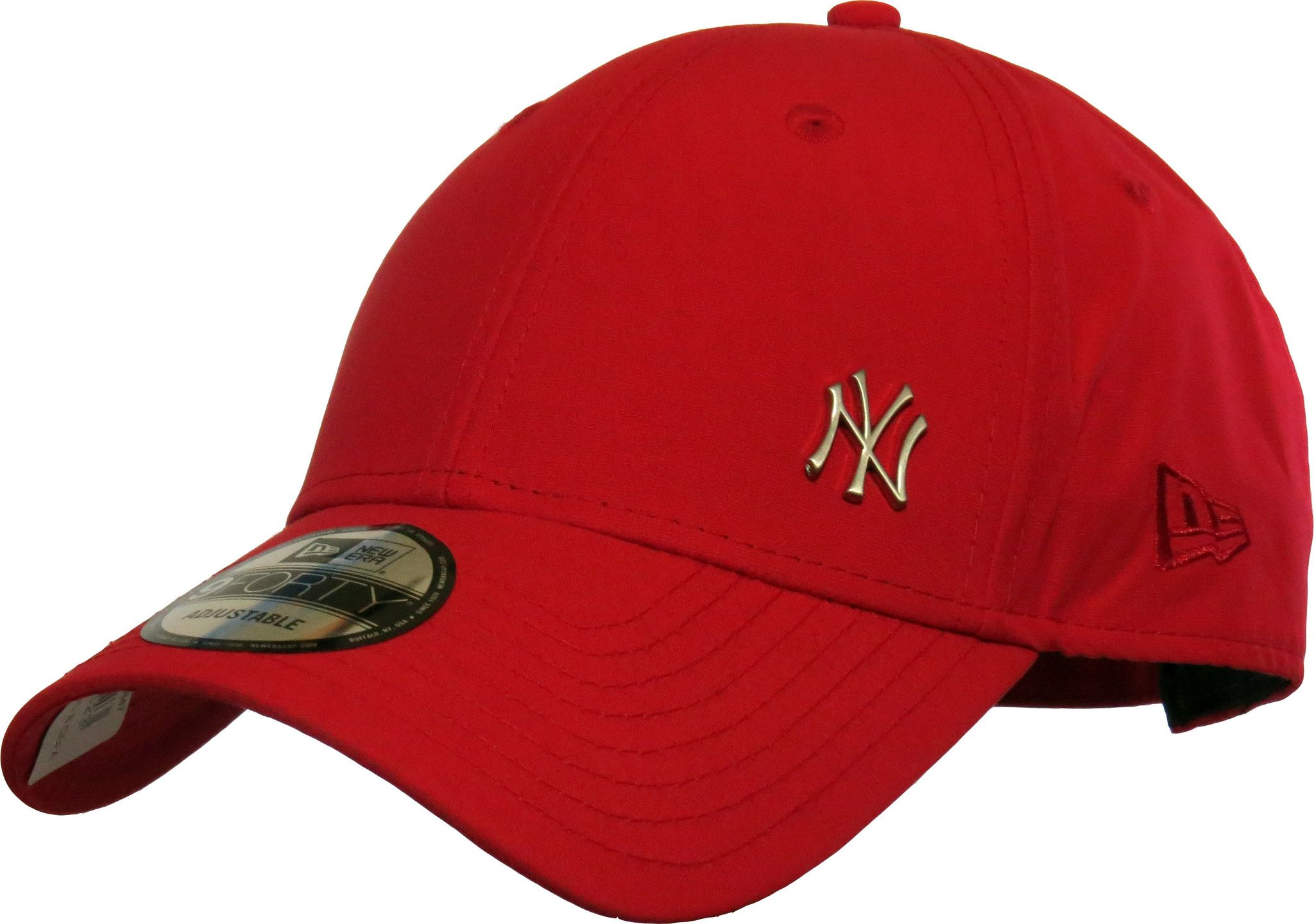 New Era 940 Flawless NY Logo Scarlet Baseball Cap  76877c1a555