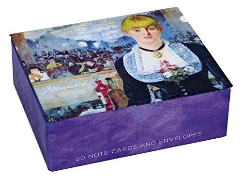 Mudlark 20 Count Museum Collection Note Cards in Keepsake Box - collection note