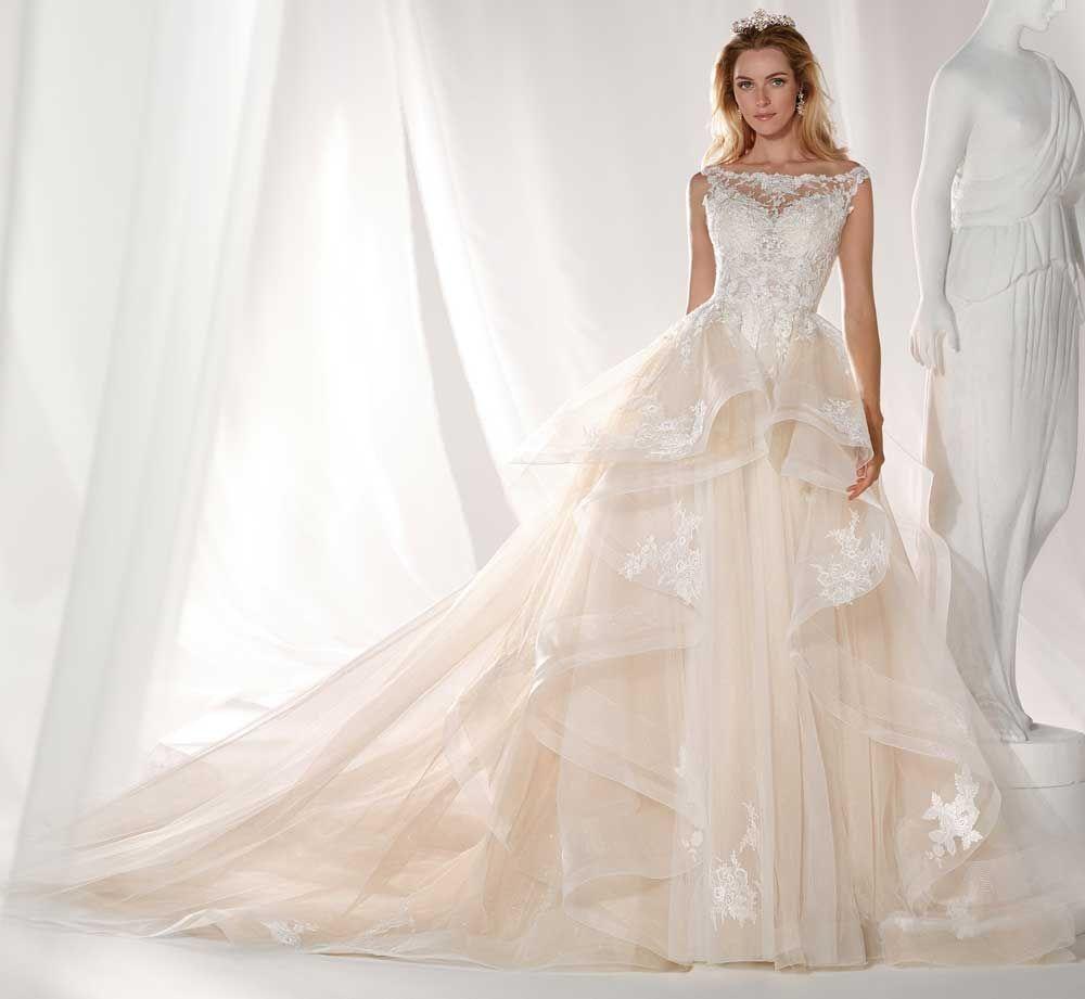 Nicole spose 2019  intera collezione abiti e prezzi  b87a2c501b6