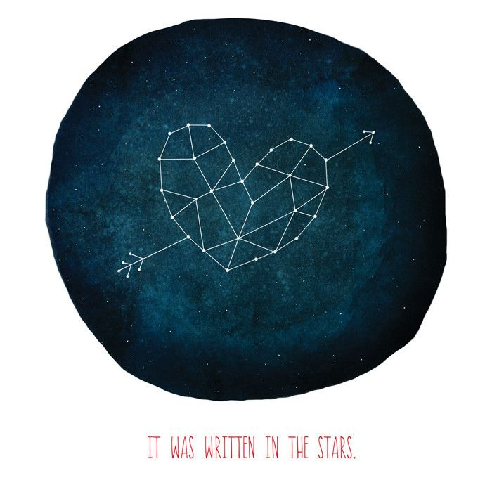 We Were Written In The Stars My Love All That Separated Us Was - Stars map from us