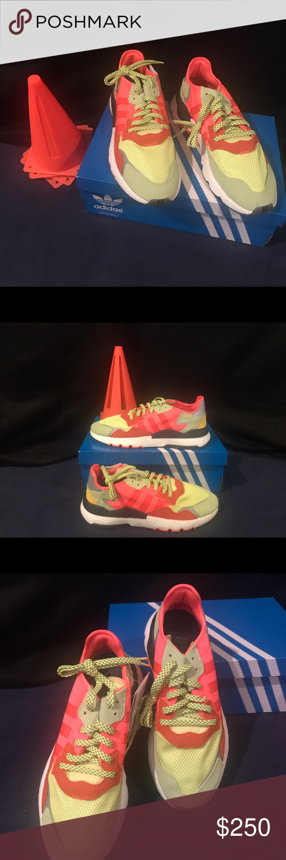c5c9525f643 Adidas Nite Jogger Road Safety Size? Exclusive 100% Authentic and Deadstock  adidas Shoes Sneakers