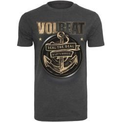 Mr. Tee Volbeat Seal The Deal Tee charcoal Mister Tee #rockandrolloutfits