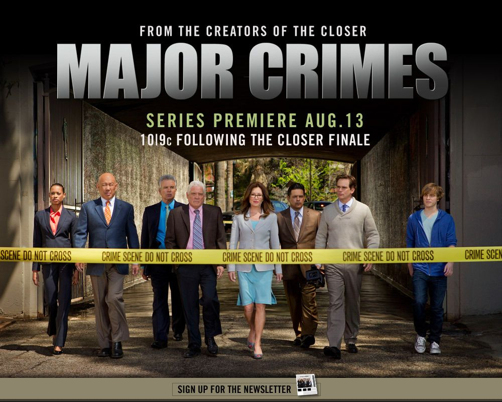 The Closer Spinoff Is Coming To A Television Near You Major Crimes Tv Show Logos Best Tv Shows