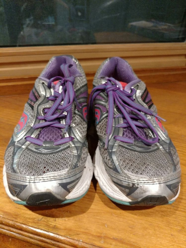 0cba44c5c75e WOMENS SAUCONY GUIDE 7 GRAY-PINK-PURPLE RUNNING SIZE 8.5 pre-owned no  insoles  fashion  clothing  shoes  accessories  womensshoes  athleticshoes  (ebay link)