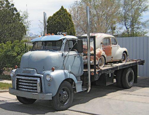 1953 GMC - COE 2 Ton Flatbed Truck   Trucks  1953 Dodge Flatbed Truck