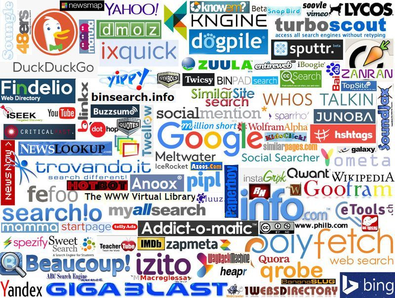 100 Search engines logos image for you to use | Search