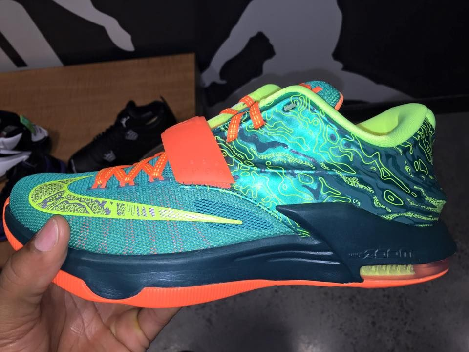 """the latest 4e09b bde05 Nike KD 7 """"Weatherman"""" Images and Release Info 