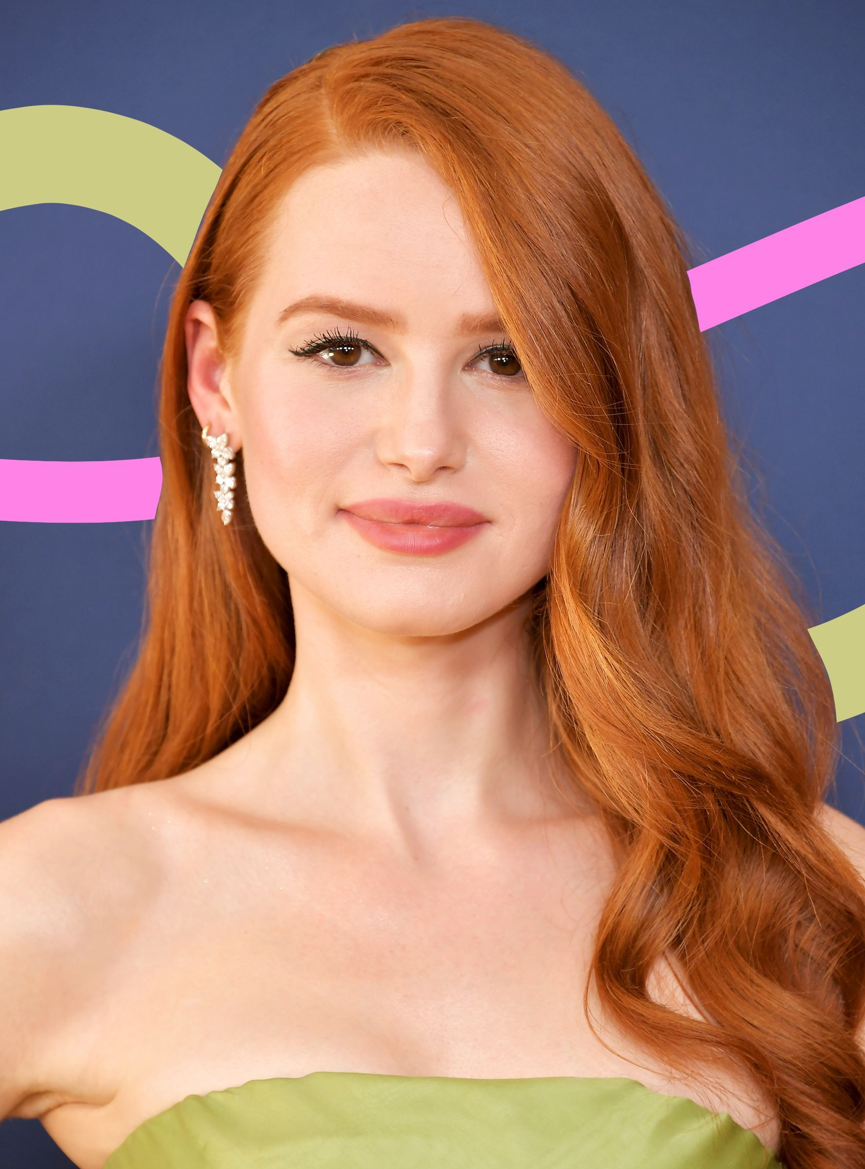 Yes Madelaine Petsch S Red Hair Is Real Here S How She Maintains It Hair Color Auburn Balayage Hair Light Brown Hair