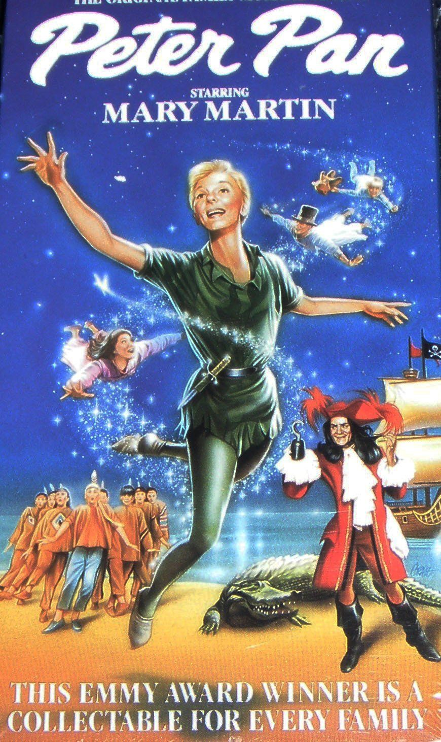 Peter Pan 30th Anniversary Collectors Edition Vhs Second Star