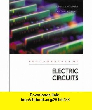 Fundamentals of Electric Circuits with CD-ROM with Problem