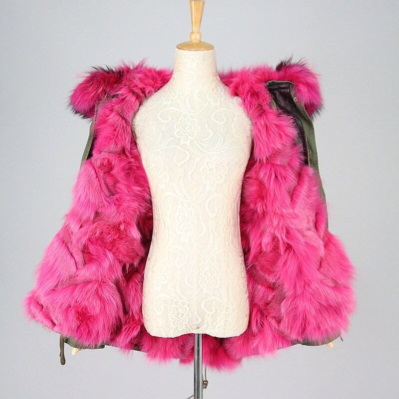 For prices on real fox fur parkas please DM or text 661-450-8882.