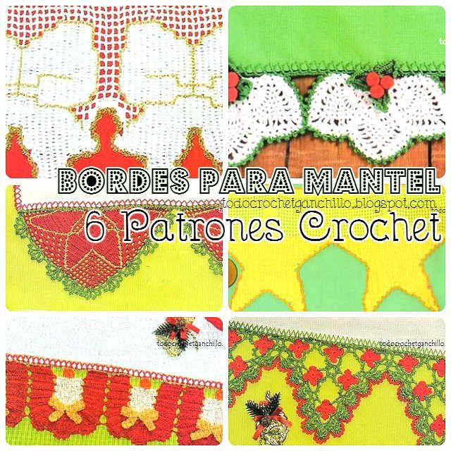 Todo crochet | Ganchillo | Pinterest | Mantel, Navidad y Manteles ...