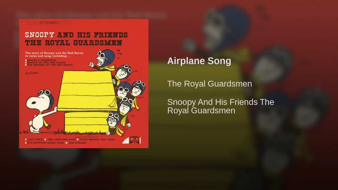 airplane song music group royal guardsmen pinterest airplanes jpg 1280x720 royal guardsmen snoopy christmas - Snoopy Red Baron Christmas Song