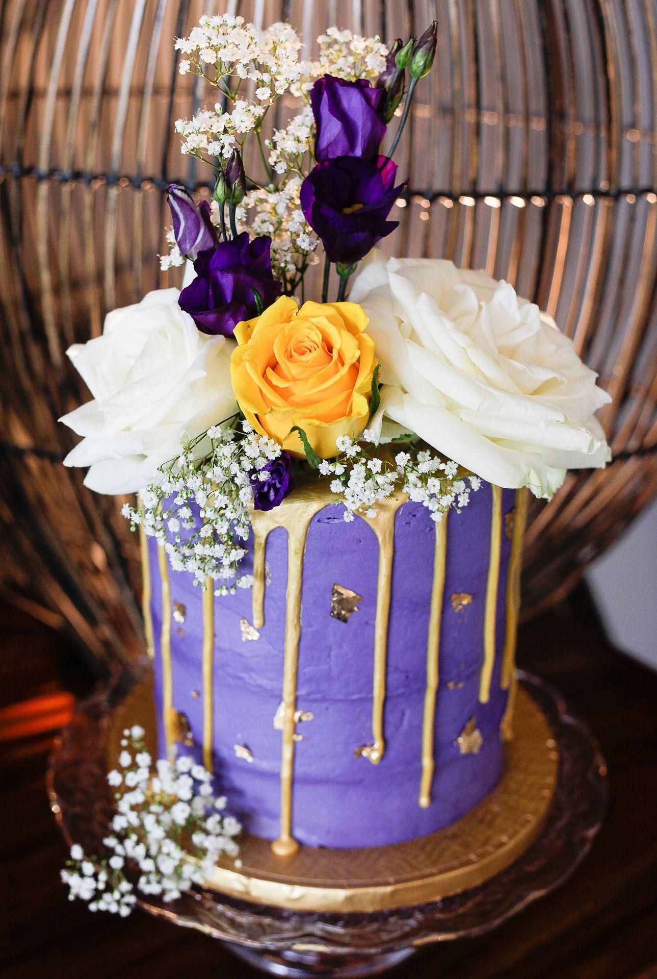 Artisana - Bespoke Cakes Lilac Buttercream Lemon Drizzle ...