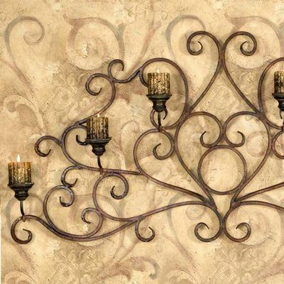 Imperial Mediterranean Wall Candelabra   victorian decor   Pinterest ...